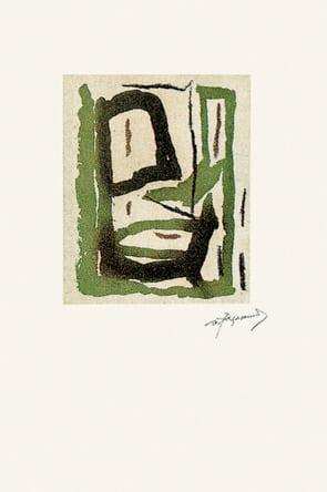 Dahlagenturer - Albert Ràfols-Casamada, 38x56cm