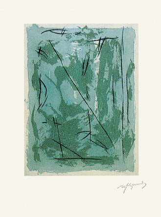 "Dahlagenturer - Albert Ràfols-Casamada ""Circ 3"", 56x76cm"