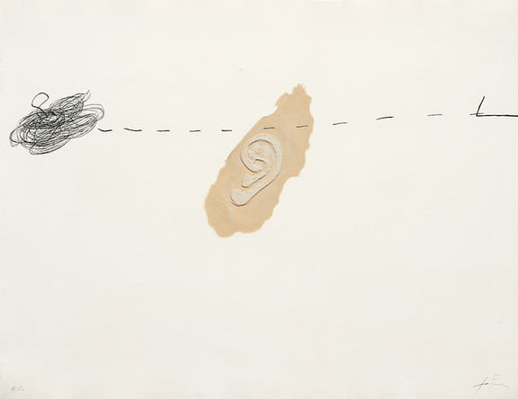 Dahlagenturer - Antoni Tapies, 78x60cm