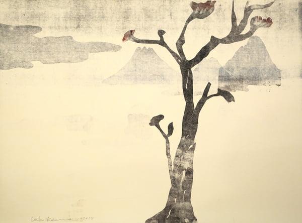 "Dahlagenturer - Leiko Ikemura ""Fuji 10"", 84x63cm"