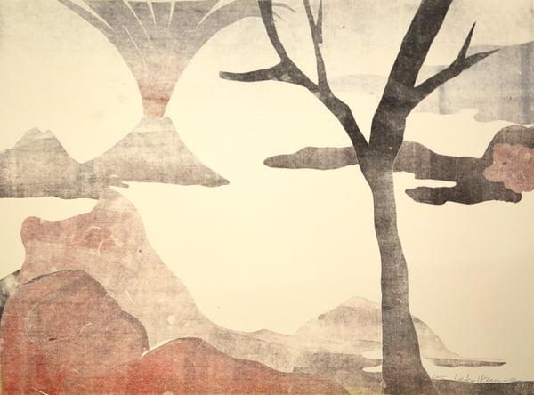 "Dahlagenturer - Leiko Ikemura ""Fuji 13"", 84x63cm"