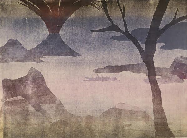 "Dahlagenturer - Leiko Ikemura ""Fuji 14"", 84x63cm"