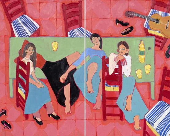 Dahlagenturer - Miriam Dema, 151x121cm