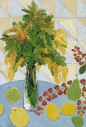 Dahlagenturer - Miriam Dema, 49x72cm