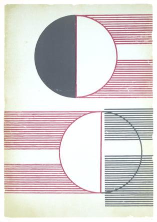"""Dahlagenturer - Regina Gimenez """"Sunrays 1"""", 70x100cm"""